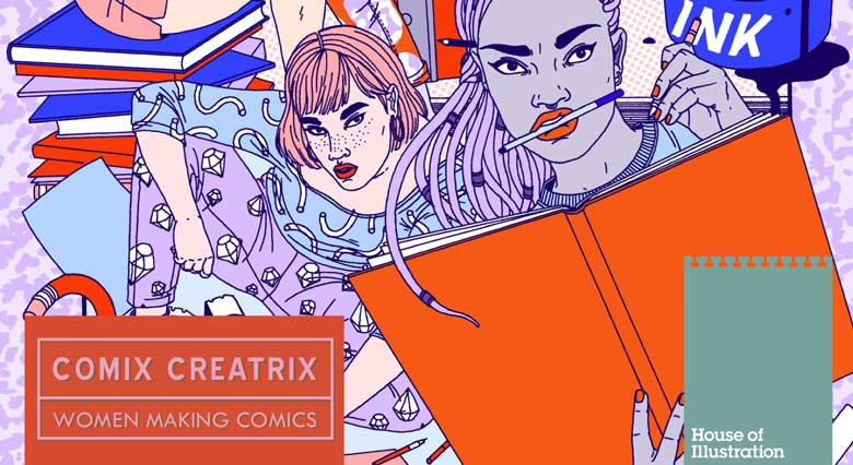 House of Illustration - Comix Creatrix
