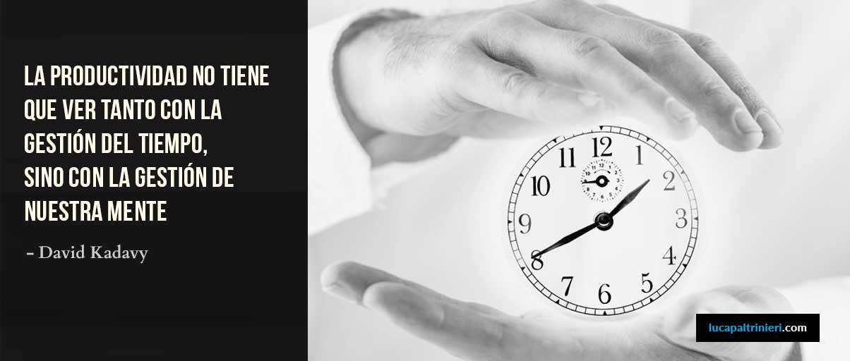 El Tiempo y la Creatividad
